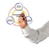 Beheer diagram — Stockfoto