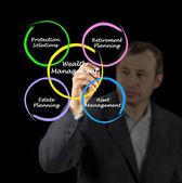 Förmögenhetsförvaltning — Stockfoto