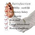 iş memnuniyeti listesi — Stok fotoğraf