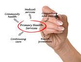 Servicios primarios de salud — Foto de Stock