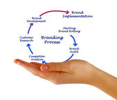Branding Process  — Stock Photo
