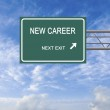 Road sign to career — Stock Photo #44936953