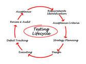 Testing Life Cycle — Stock Photo