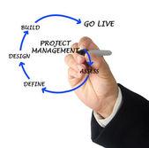řízení projektu — Stock fotografie