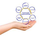 Financia Sustainability — Stock Photo