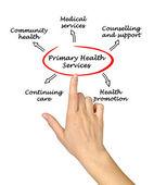 Primary health services — Stock Photo