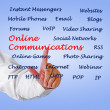 Online communications — Stock Photo #46528027