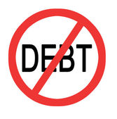 Preventing debt — Stock Photo