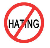 Stop hating — Stock Photo