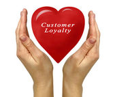 Customer loyalty — Stock Photo