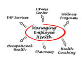 Managing Employee Health — Stock Photo