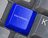Hot key for data collection — Stock Photo