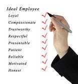 Ideal Employee — Stock Photo