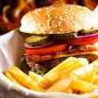 Hamburger — Stock Photo #12682039