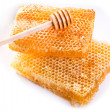 Stock Photo: Honeycombs