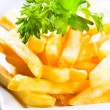 Stock Photo: Fries potatoes