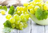 зеленый виноград — Стоковое фото