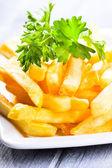 Fries potatoes — Stockfoto