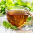 Cups of tea with mint — Stock Photo #13517479