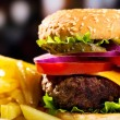Hamburger — Stock Photo #13684546