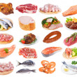 Meat collection - Stock Photo