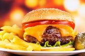 De hamburguesas — Foto de Stock