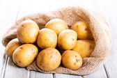 Fresh potatoes — Stock Photo