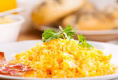 Scrambled eggs — Stock fotografie