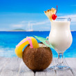 Tropical cocktails — Stock Photo #18559179