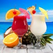 Tropical cocktails — Stock Photo #18559187