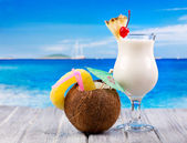 Cocktails tropicais — Foto Stock