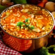 Royalty-Free Stock Photo: Vegetable soup