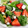 Salad with strawberry — Stock Photo #21191277