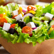 Greek salad — Stock Photo #22003535