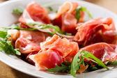 Prosciutto ham — Stock Photo