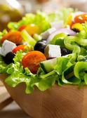 Salada grega — Foto Stock