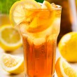 Stock Photo: Glass of ice tea