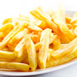 fries potatoes  — Stock Photo