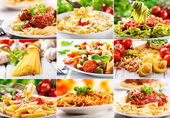 Different pasta — Stock Photo