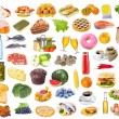 Stock Photo: Food collection