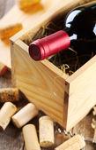Bottle of wine — Stock Photo