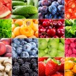 Various fruits, berries, herbs and vegetables — Stock Photo #29355607