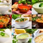 Various soups — Stock Photo #29355649