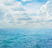 Blue sea — Stock Photo