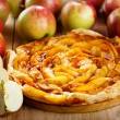 Apple pie with fresh fruits — Stock Photo #30962221