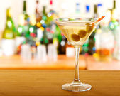 Martini cocktail  — Stock Photo