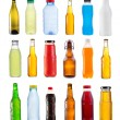 Set of various bottles — Stockfoto #45936119