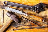 Staré nástroje — Stock fotografie