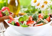 Strawberry salad — Stock Photo