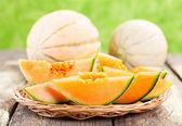 Fresh melon — Stock Photo